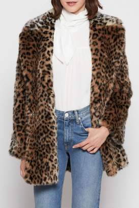 Joie Faux Fur Coat
