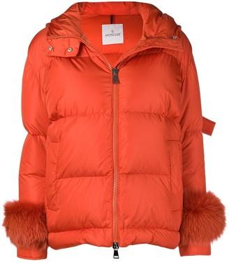 Moncler padded hooded jacket