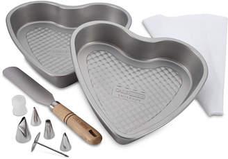 Cake Boss 10-Pc. Heart Bakeware Set