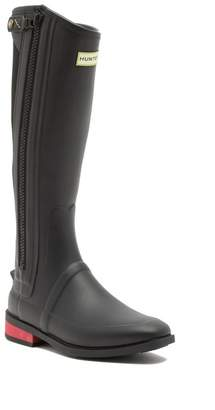 Hunter Wellesley Rubber Riding Boot