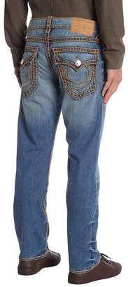 True Religion Ropestitch Straight Leg Jeans