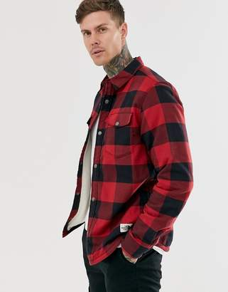 The North Face Campshire shirt in red