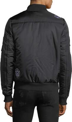 The New Designers Men's Cooper Patchwork Bomber Jacket