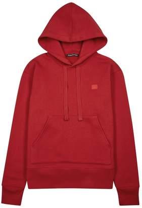 Acne Studios Ferris Face Hooded Cotton Sweatshirt