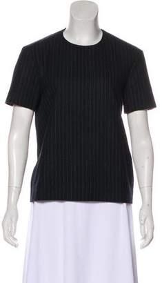 Celine Short Sleeve Wool Top
