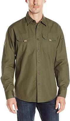 Wrangler Authentics Men's Big-Tall Long Sleeve Canvas Shirt