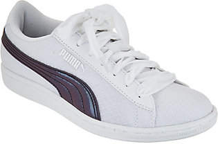 Puma Mesh Sneakers with Velvet Laces - VikkySwan