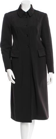 pradaPrada Black Long Coat