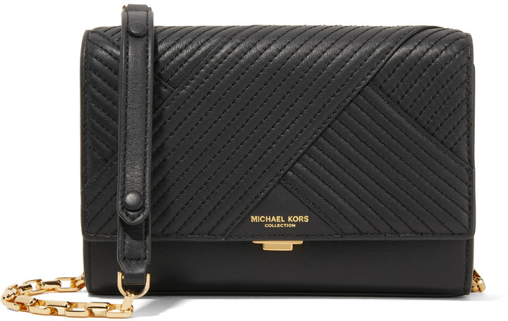 MICHAEL Michael Kors Michael Kors Collection Yasmeen small quilted leather shoulder bag