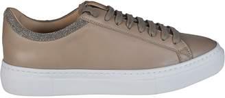 Fabiana Filippi Leather Round Toe Sneakers