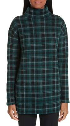 Akris Punto Check Wool & Cashmere Sweater