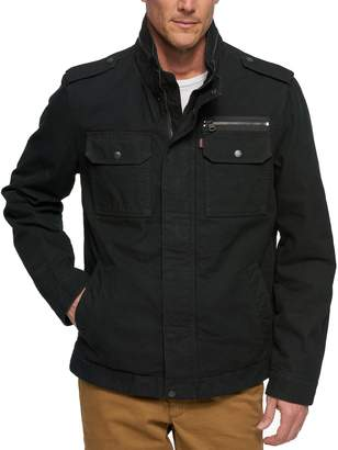 Levi's Levis Men's Stand-Collar Military Jacket