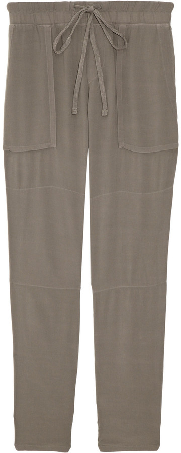 James Perse Crepe cargo pants