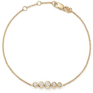 KC Designs 14K Yellow Gold Diamond Bezel Bracelet - 100% Exclusive