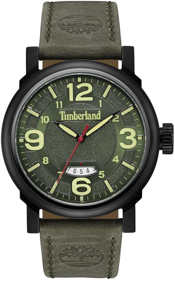 TimberlandTimberland Men's Berkshire Leather Watch