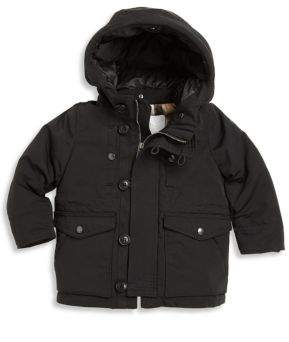Burberry Baby's& Toddler Boy's Mini Elliot Faux Fur-Lined Down Jacket