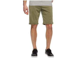 Lucky Brand Stretch Sateen Flat Front Shorts Men's Shorts