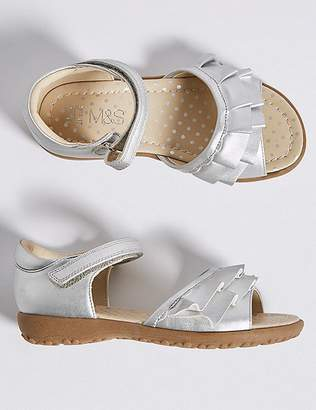 Marks and Spencer Kids' Frill Sandals (5 Small - 12 Small)