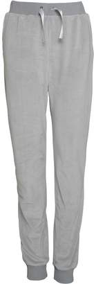 Board Angels Girls Velour Jog Pants Grey