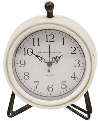 Stratton Home Décor Stratton Home Decor Daisy Table Clock