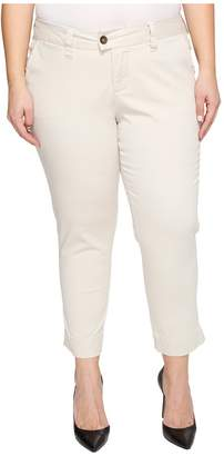 Jag Jeans Plus Size Creston Ankle Crop in Bay Twill Women's Casual Pants
