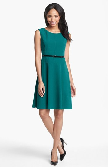 Marc New York Seamed Fit & Flare Dress