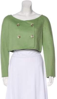 Valentino Cropped Long Sleeve Jacket