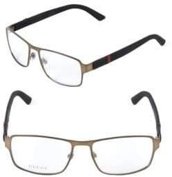 Saint Laurent 56MM Square Optical Glasses