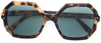 Oliver Goldsmith Yaton Jaguar sunglasses $400 thestylecure.com