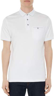 Ted Baker Jelly Flat Knit Regular Fit Polo