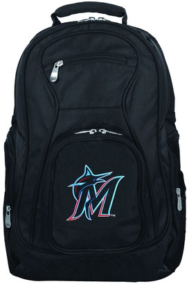 Miami Marlins Premium Laptop Backpack