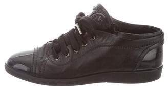 Chanel CC Low-Top Sneakers