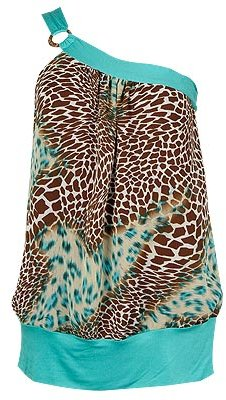Safari Single Shoulder Top