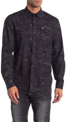 ProjekRaw Projek Raw Camo Long Sleeve Shirt