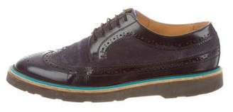 Paul Smith Suede-Trimmed Oxford Brogues