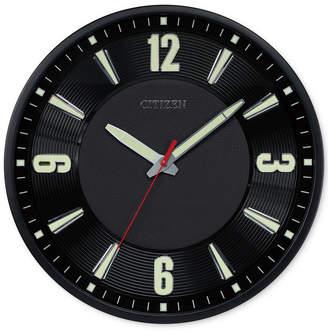 Citizen (シチズン) - Citizen Gallery Black Metal Wall Clock