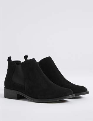 Marks and Spencer Block Heel Chelsea Ankle Boots