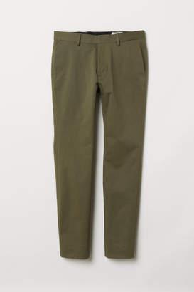 H&M Cotton Chinos - Green