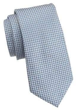 Emporio Armani Striped Silk Tie