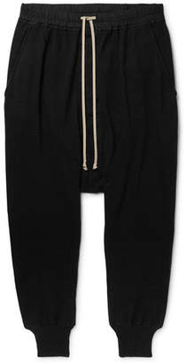 Rick Owens Tapered Cotton-Jersey Sweatpants