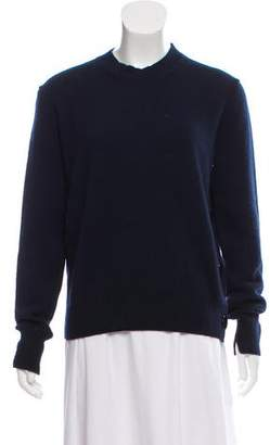 Celine Rib-Knit Wool and Cashmere Sweater