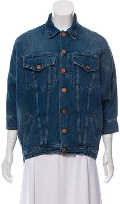 Band Of Outsiders Button-Up Denim Jacket