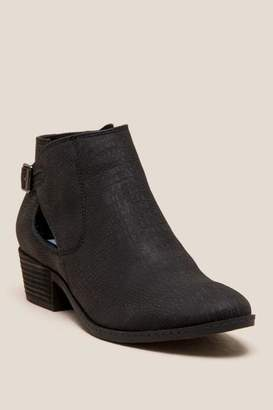 Not Rated Priscilla Ankle Boot - Black