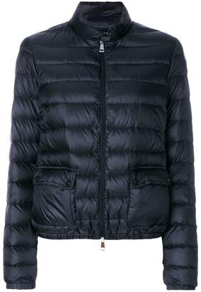 Moncler zipped fitted padded jacket
