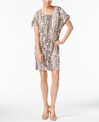 Calvin Klein Cold-Shoulder Shift Dress, a Macy's Exclusive Style $89.50 thestylecure.com