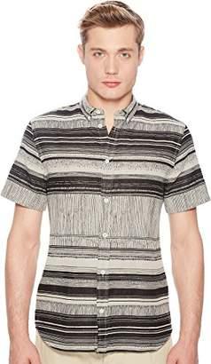 Billy Reid Men's Slim Fit Short Sleeve Button Down Murphy Shirt