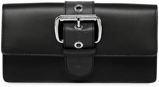 Vivienne Westwood Alex Leather Clutch W/ Buckle