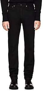 Helmut Lang Men's High-Rise Straight Jeans-Black
