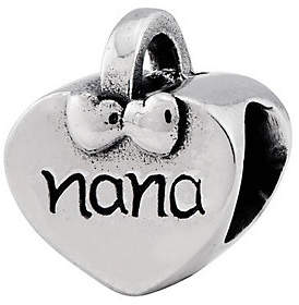Nana Prerogatives Sterling Heart Bead