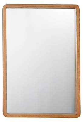 John Lewis House by Rounded Mirror, 50 x 75cm, Oak